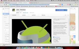 ARC Welder on Chrome web store