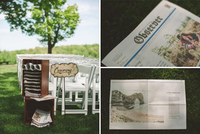 Periódicos personalizados para tu boda