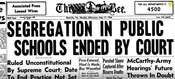Segregation in the US schooling system - black lives matter