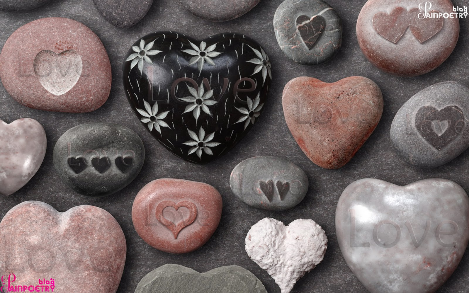 Love-Wallpaper-With-Hearts-Of-Stones-Image_HD
