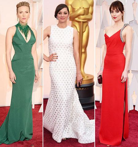 Оскари 2015 Мода от Червения килим