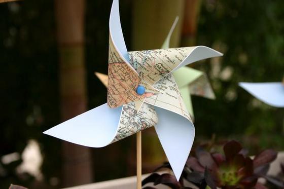 decorar_con_mapas_fiesta_ideas_presentar_bebe_amigos_familia