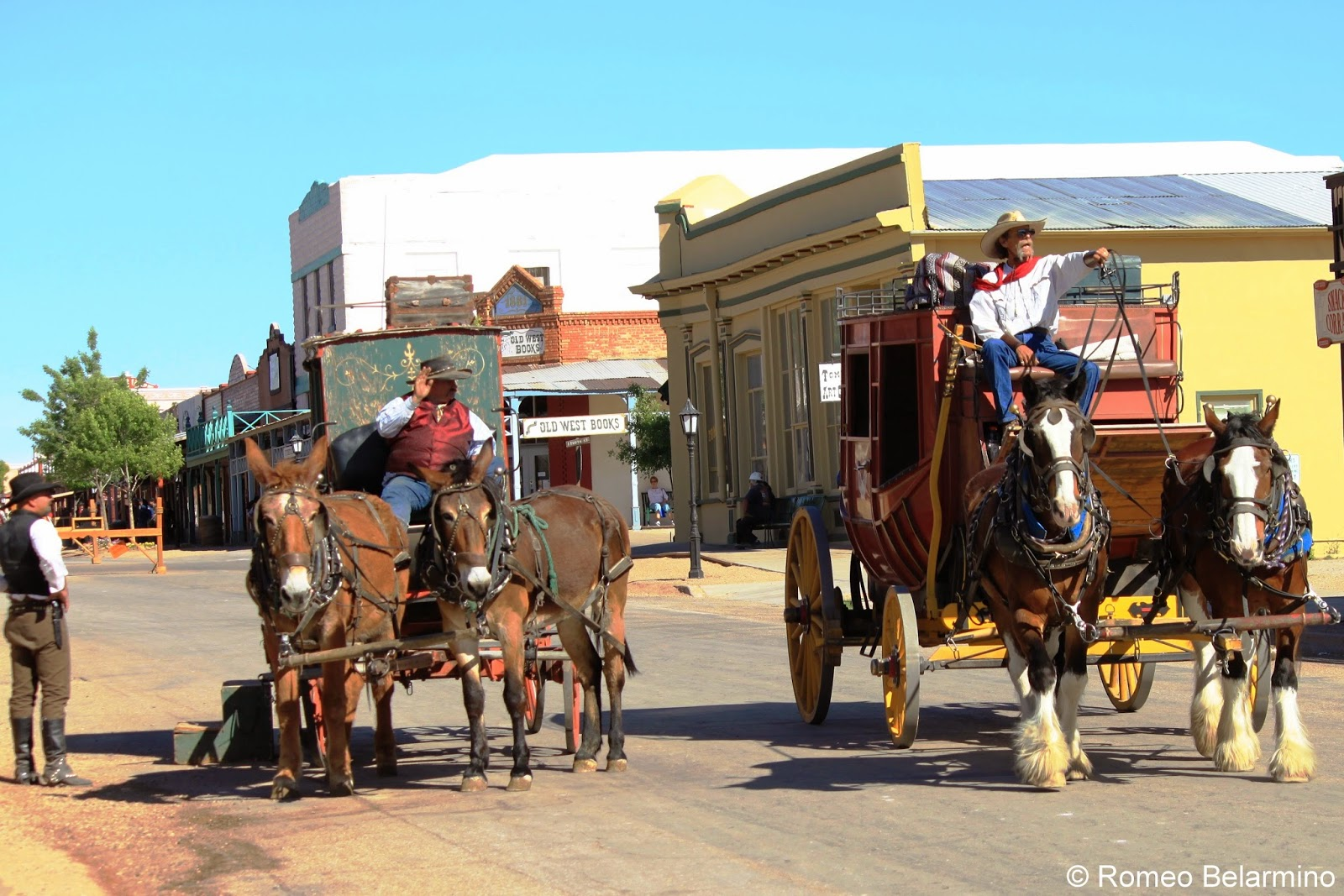 Tombstone AZ Attractions Stagecoach Rides