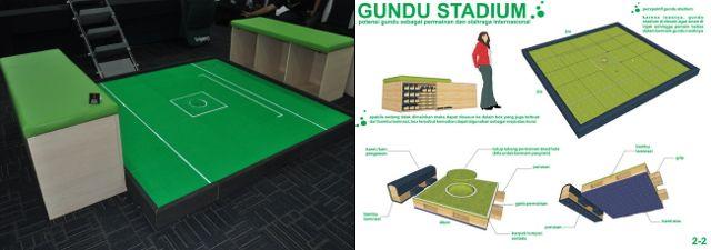 Gundu Stadium, Arena Khusus Untuk Main Gundu [ www.BlogApaAja.com ]