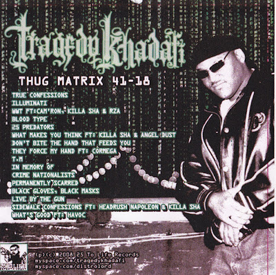 Tragedy Khadafi – Thug Matrix 41-18 (CD) (2001) (320 kbps)