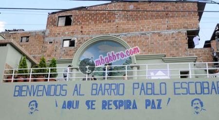 pemukiman Barrio Pablo Escobar