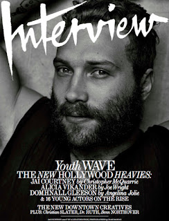 Jai Courtney covers Interview magazine.