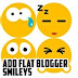 How to add whatsapp smileys on Blogger Posts and Comments?