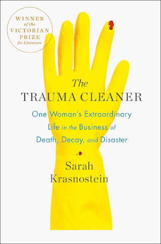A FASCINATING READ: The Trauma Cleaner, Sarah Krasnostein