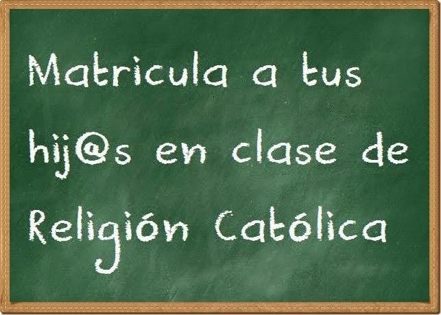 Clase de Religión Católica