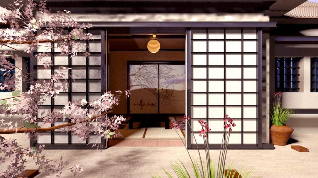 desain rumah jepang