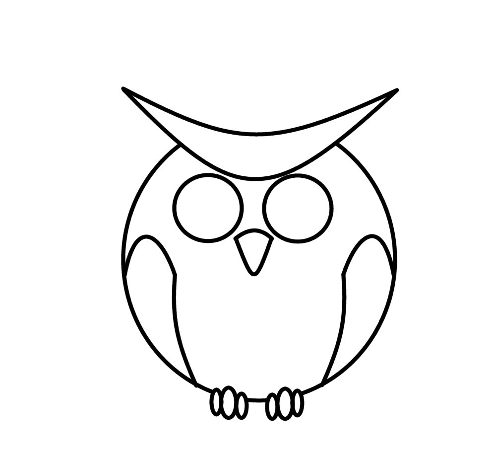 how to draw an owl shopify