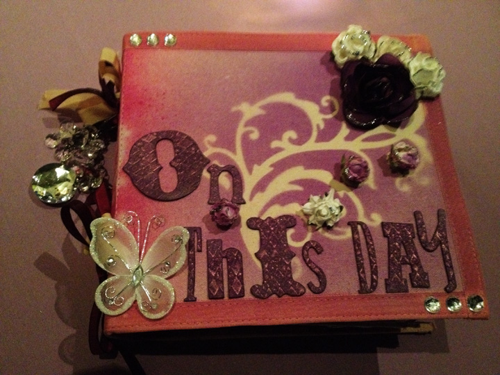 DIY Wedding Scrapbook Guestbook Fantastic scrap book guest book by Lorraine