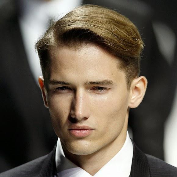 Modela tu cabello cortes de pelo para hombres con la raya - Peinados de hombres ...