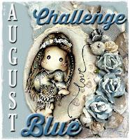 August Challenge -  Blue