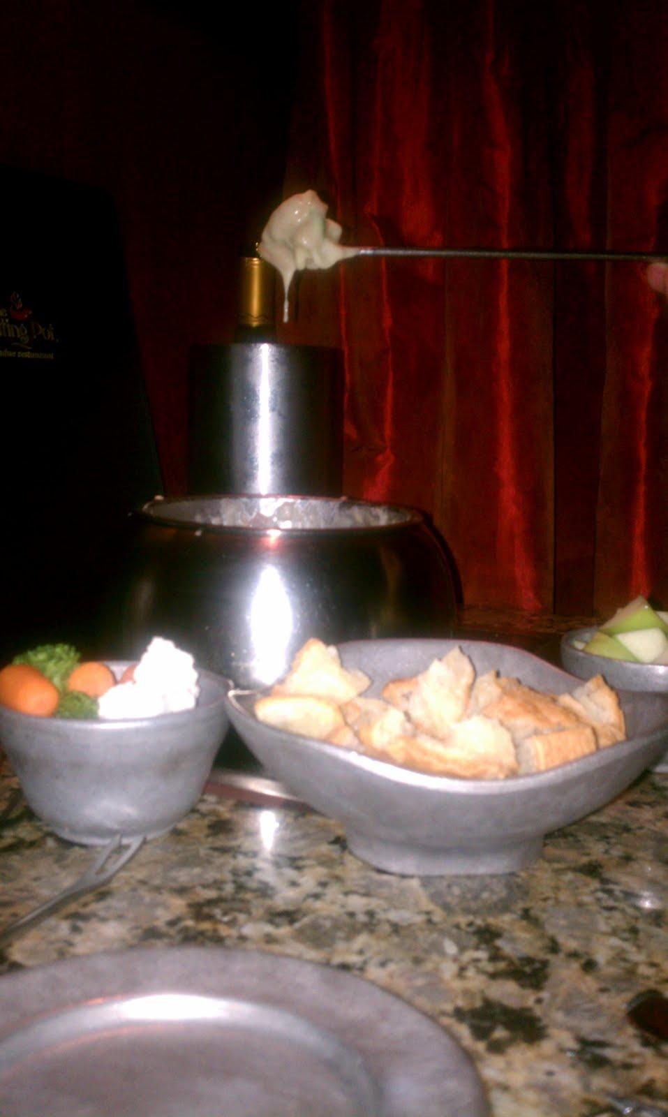 Gluten Free Durham: The Melting Pot, Restaurant Review