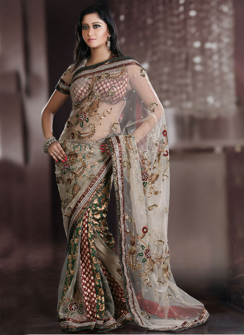 Beautiful Models Promotig Indian Sarees Latest Designs ...
