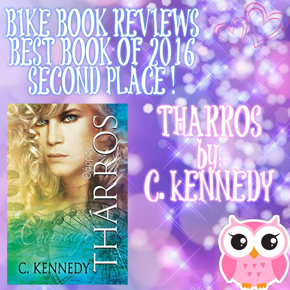 Tharros makes Bike Book Reviews' Best Books of 2016 List!
