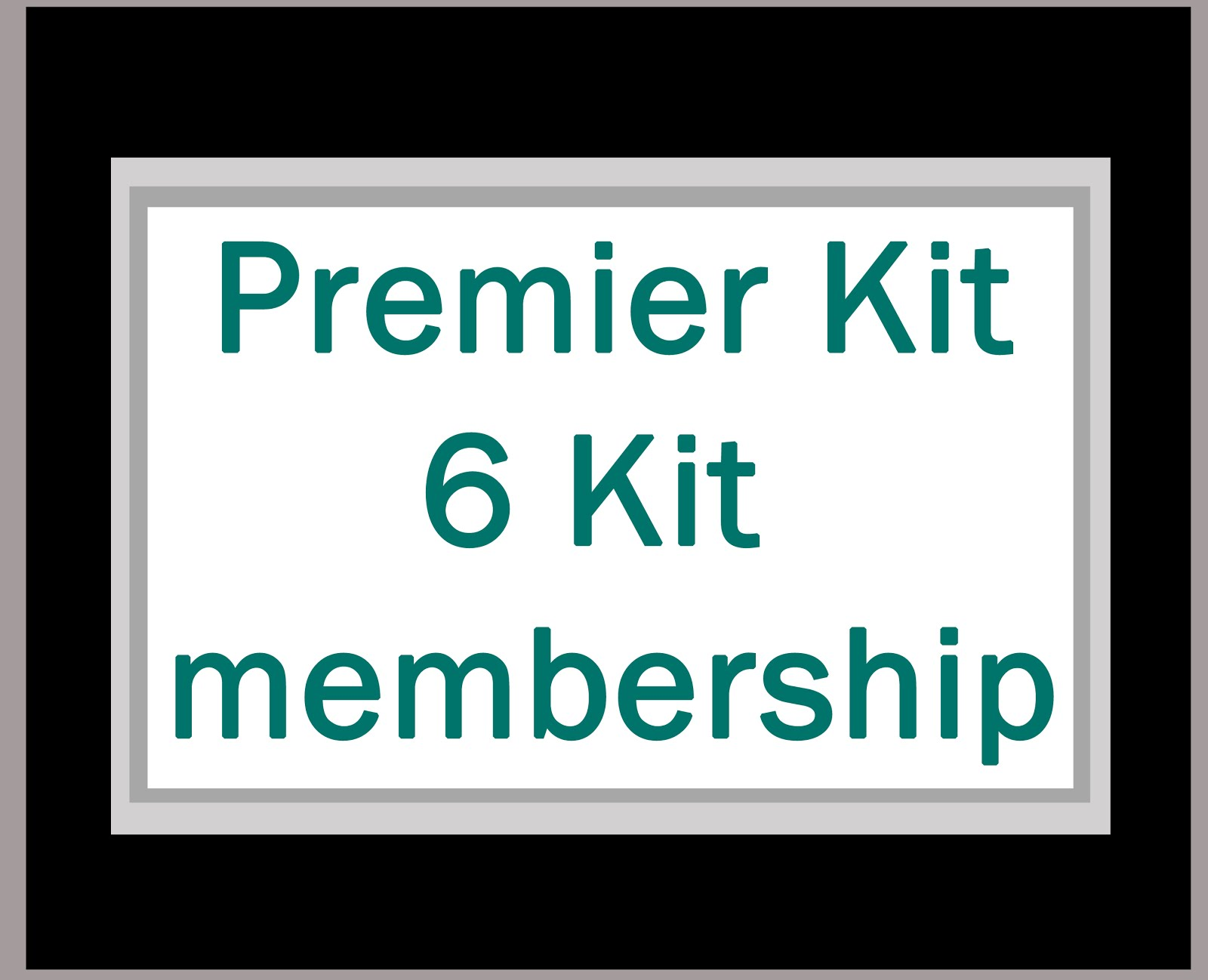 6 Month Kit membership