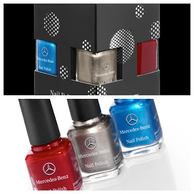 Mercedes Benz Nail Polish