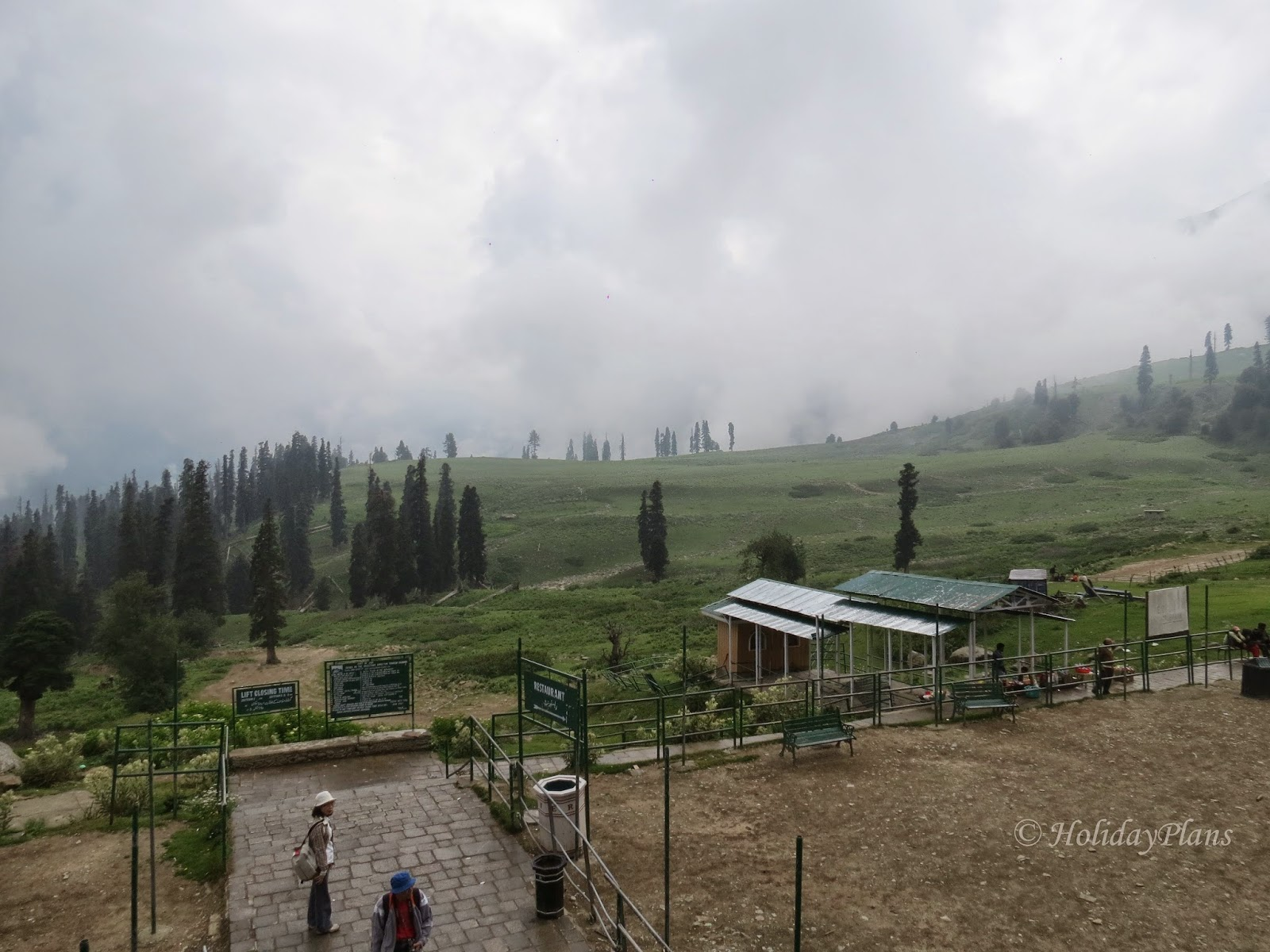 A view from Gulmarg Level-1