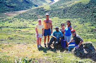 hikers in Tennessee Valley California