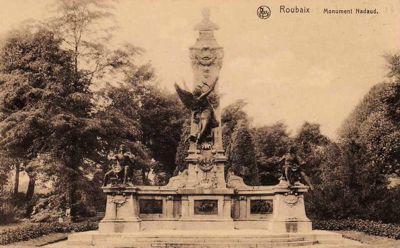 Le monument de Gustave Nadaud