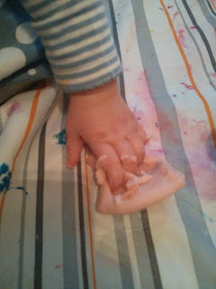 little fingers in play dough