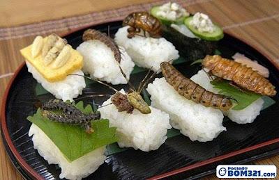Hidangan Sushi Di Jepun