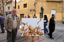 los amigos de Creativitat Arts Colectiu me invitaron a participar en una colectiva callejera...