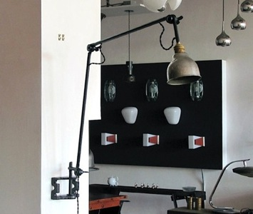 wo and w collection paire d 39 appliques industrielles isolateurs usa vintage. Black Bedroom Furniture Sets. Home Design Ideas