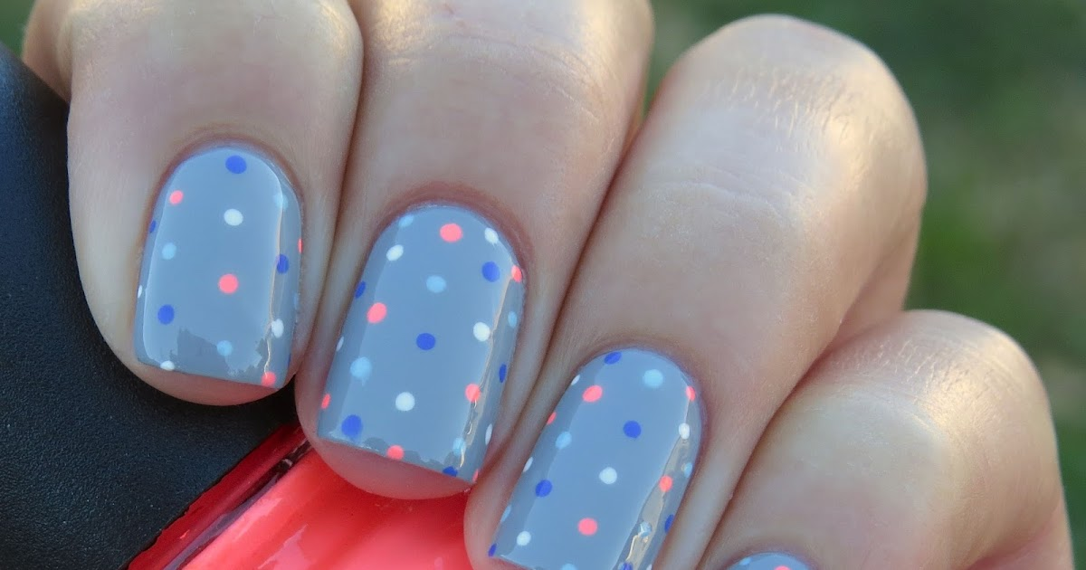 KellieGonzo: Guest Post by Tales About Nails: Pyjama Dotticure