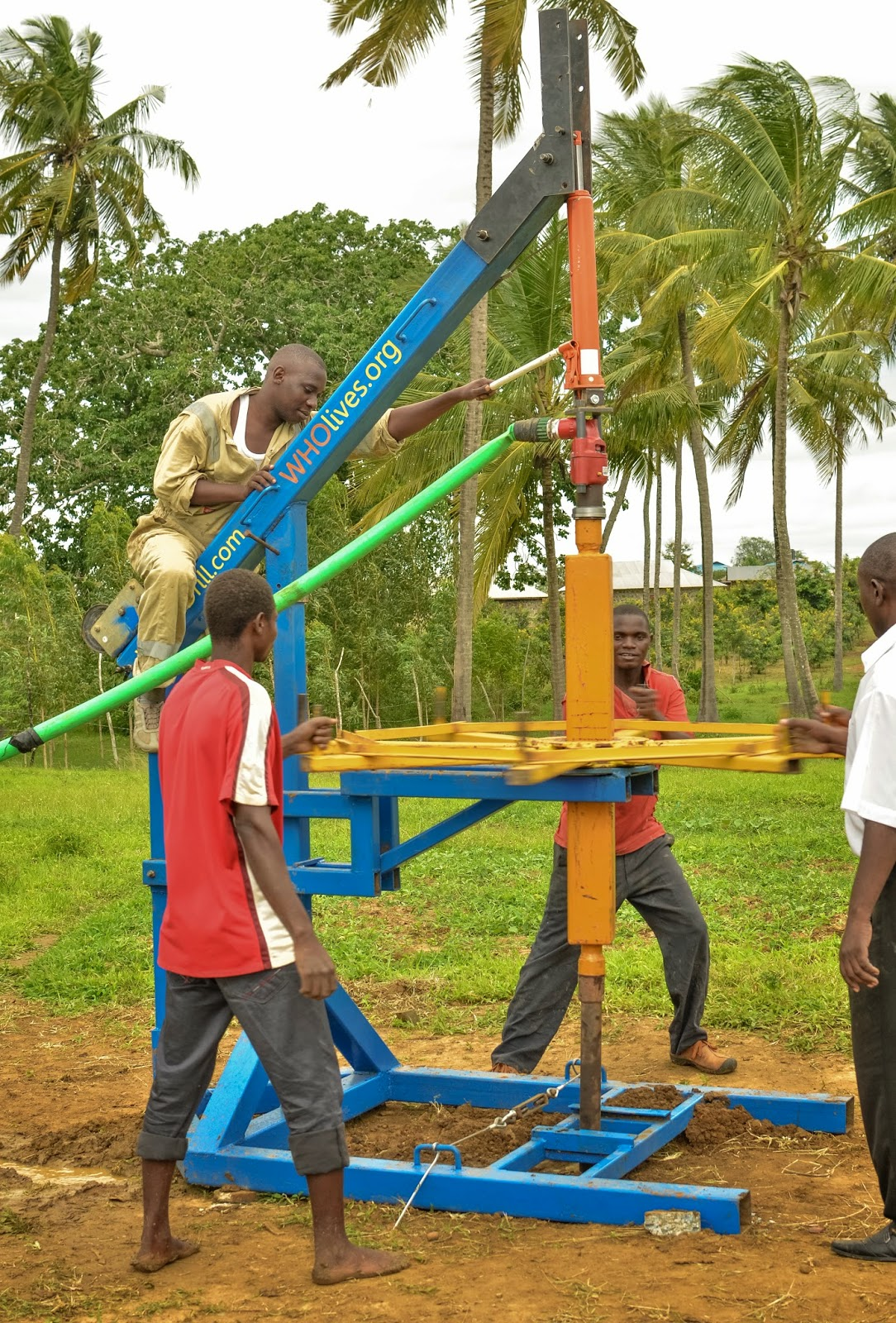 Wholives modification to the village drill promises
