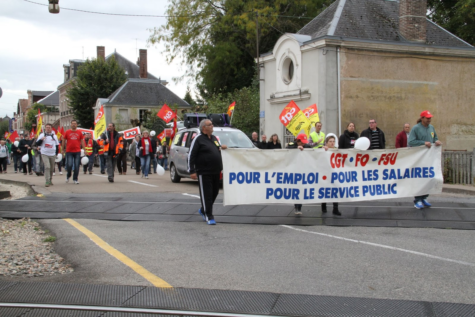 Romilly pour tous journee d 39 action interprofessionnelle for Action romilly