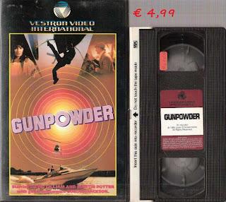 gunpowder vhs raro