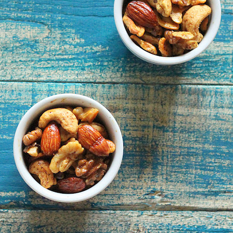 These spicy nuts are super simple to whip up and highly, very highly ...