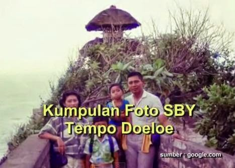 Foto SBY dan Istri bersama Kedua Anaknya Agus Harimurti dan Ibas