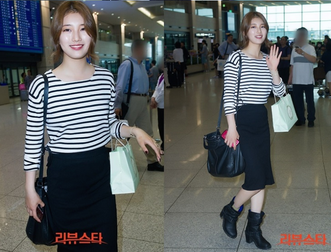 MissA Suzy airport fashion style