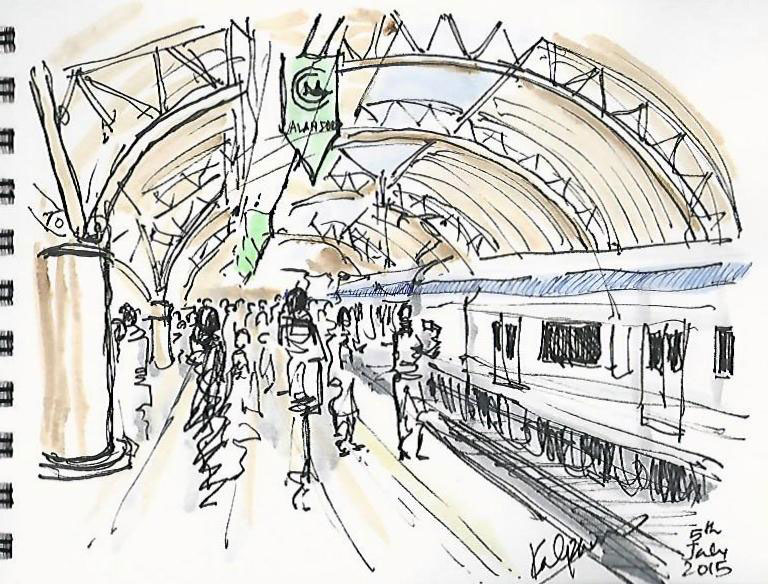 madras or thereabouts the new metro rapid sketches of