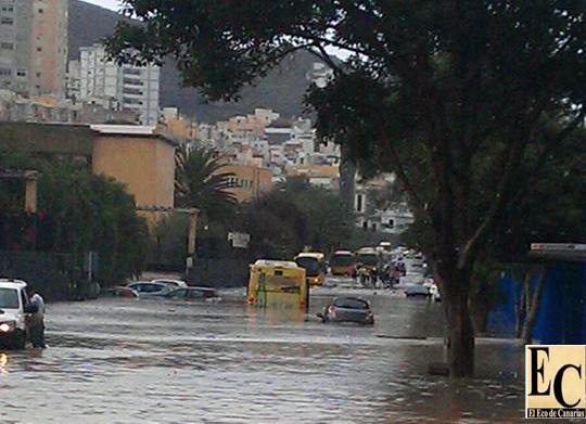 Nivel uno de emergencia en Gran Canaria máxima alerta