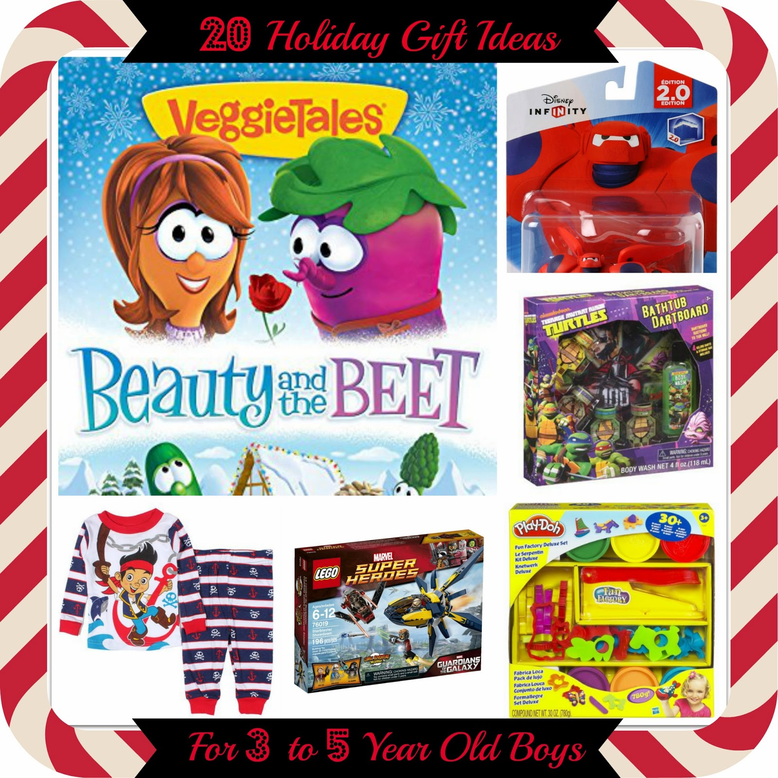 20 Holiday Gift Ideas for 3-5 Year Old Boys (2014)