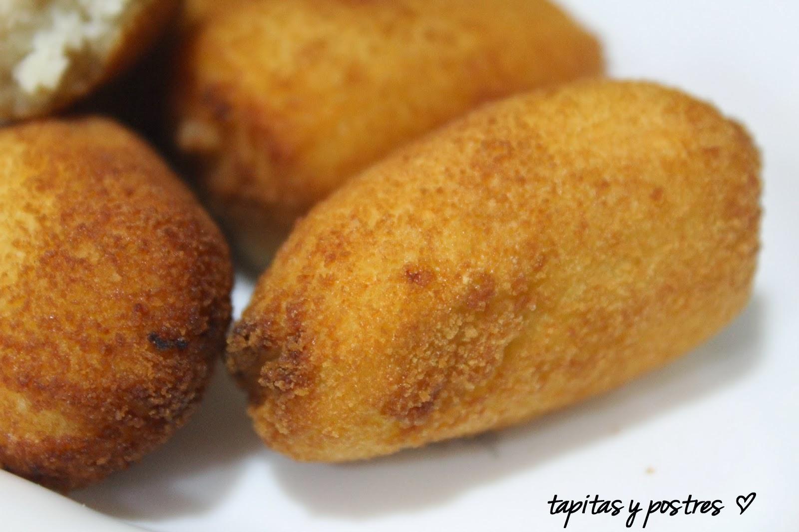 Tapitas y Postres: Croquetas de pollo asado