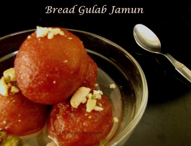 Bread Gulab Jamun | Quick Diwali Sweet