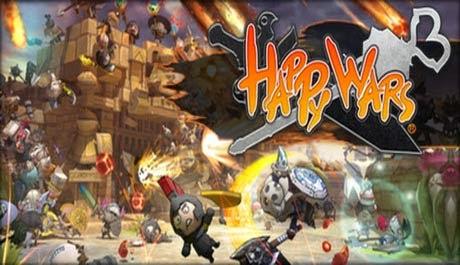 غلاف لعبة الحروب السعيدة Happy Wars