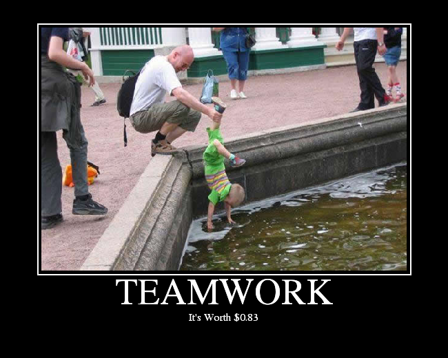 Teamwork Funny Team Work