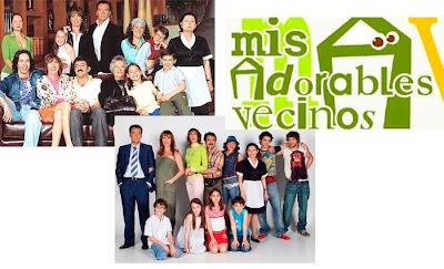 Serie de Antena 3 Mis adorables vecinos