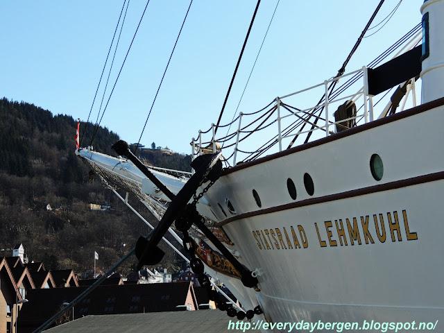 Statsraad Lehmkuhl, Bergen