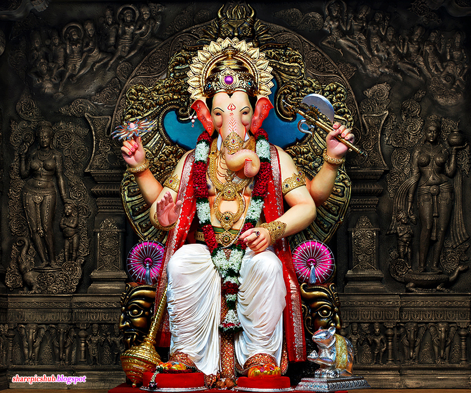 Shri Ganesh Hd Wallpaper: Lovely Pics Of Lord Ganesha