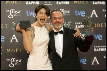 Premios Goya 2015: Bárbara Lennie y Javier Gutiérrez