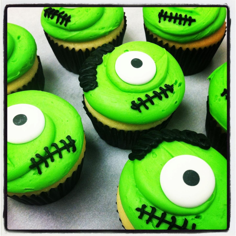 Frankenstein Cupcakes Pinterest Frankenstein Monster Cupcakes